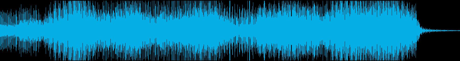 哀愁あるサイケデリックサウンド(和風)の再生済みの波形