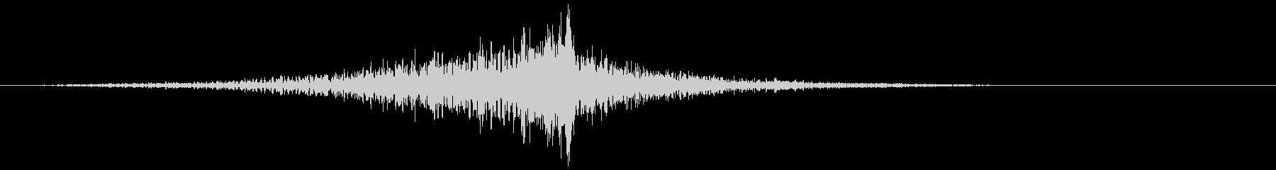 ヒューシュエアライジングフィナーレ1の未再生の波形
