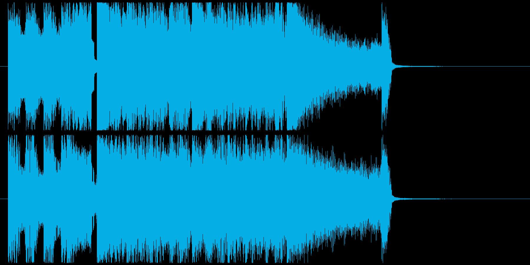 オープニング感全開の爽快バンドサウンド!の再生済みの波形