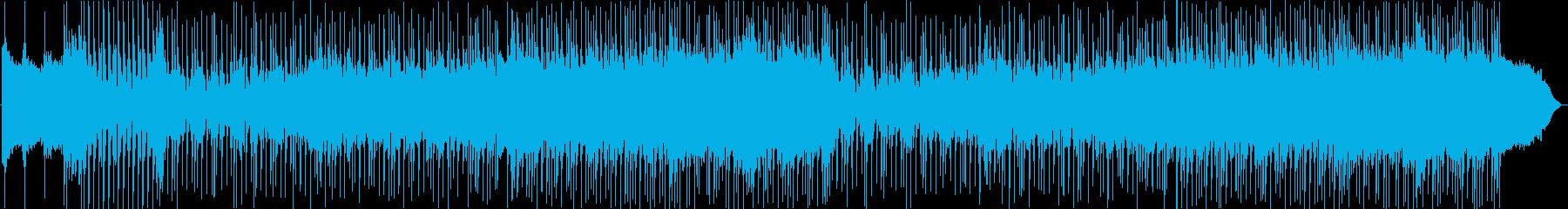 幸せ感あふれるPopソングの再生済みの波形
