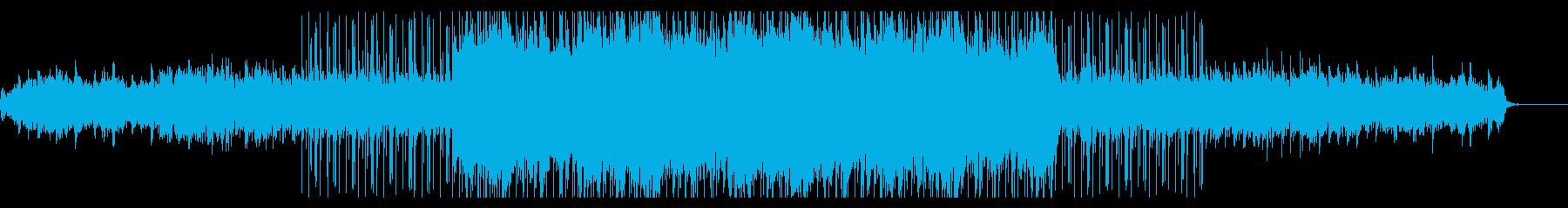 アンビエントなchill hopの再生済みの波形