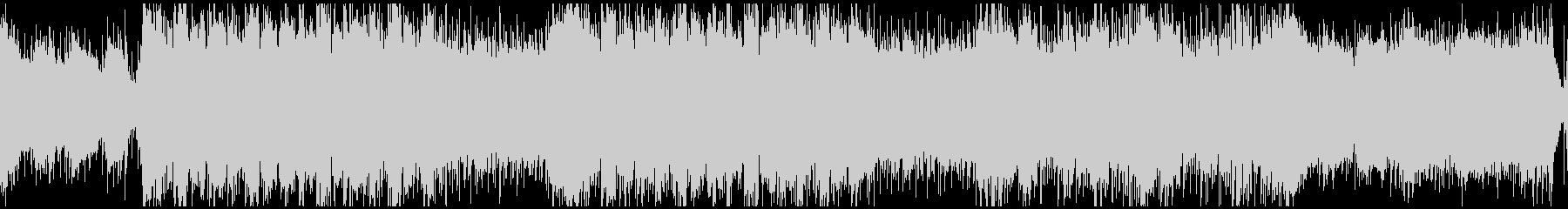 砂漠のエスニック曲(ループ)の未再生の波形
