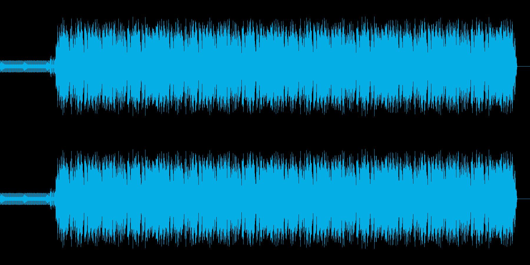 ゲームのエンディングを想定した曲ですの再生済みの波形