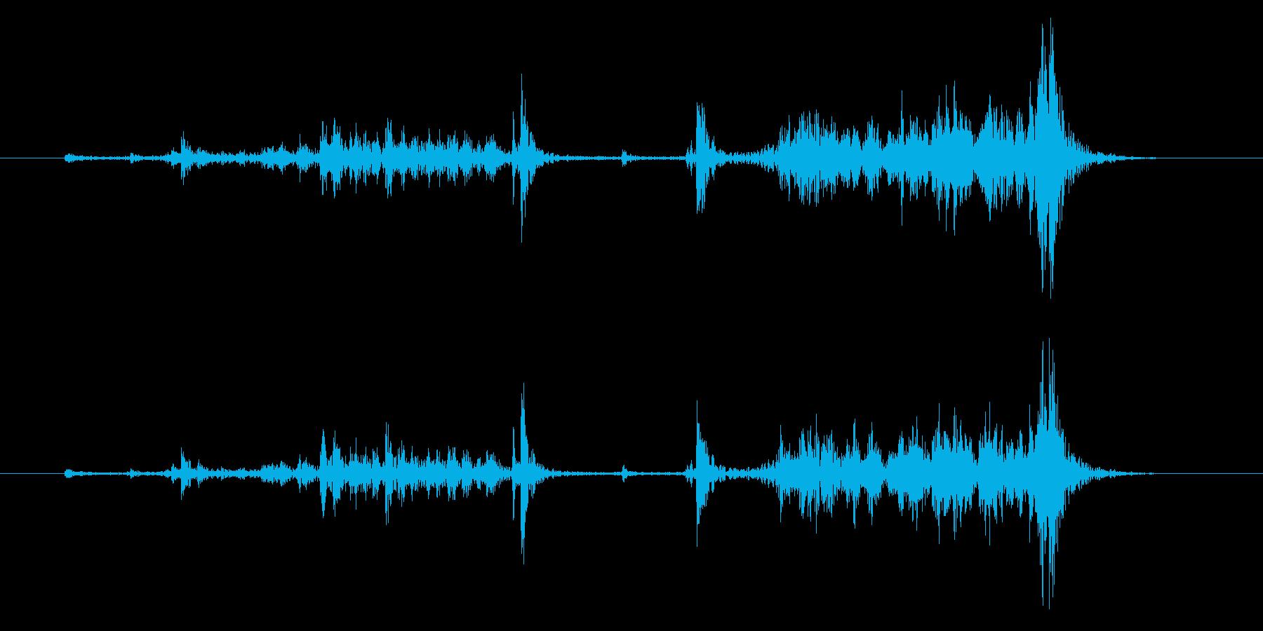 ビンテージローソク足ロータリー電話...の再生済みの波形