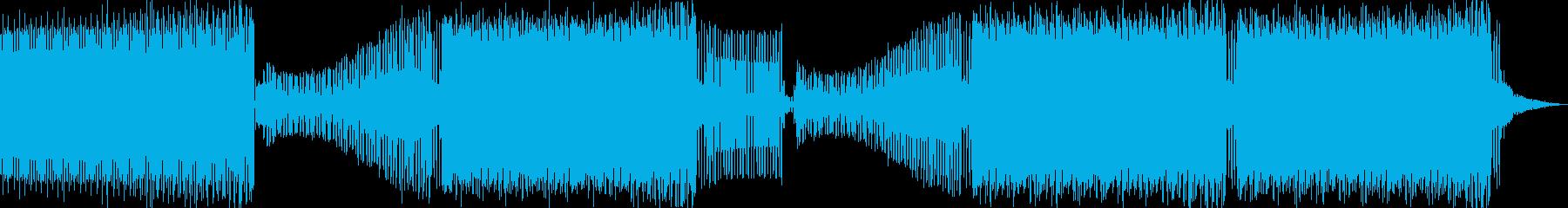 コマーシャルハウス。サンプルボーカル。の再生済みの波形
