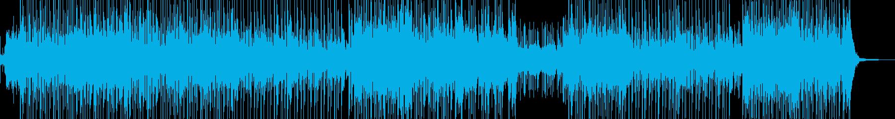 琴・三味線・レトロな演歌調ポップの再生済みの波形