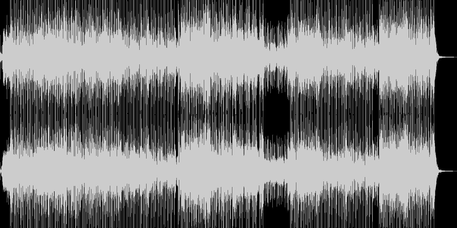 琴・三味線・レトロな演歌調ポップの未再生の波形