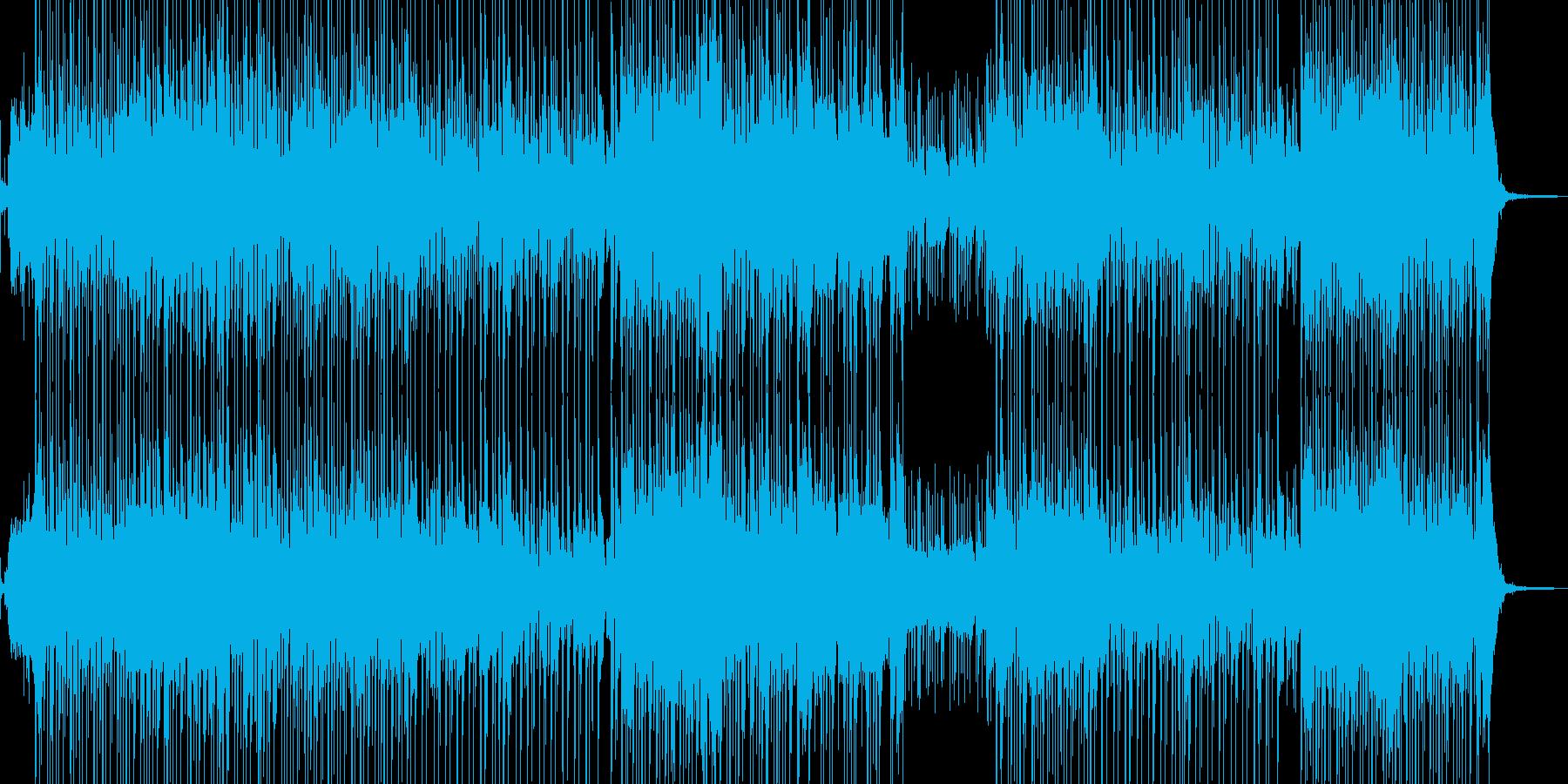 琴・三味線・レトロな演歌調ポップ 長尺の再生済みの波形