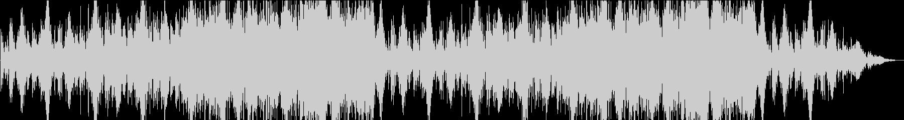 ダークメルヘンなゆったりとぼけた曲の未再生の波形
