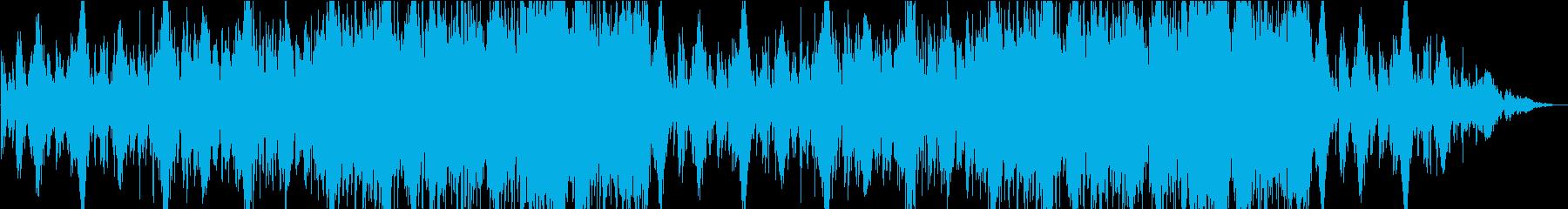 ダークメルヘンなゆったりとぼけた曲の再生済みの波形