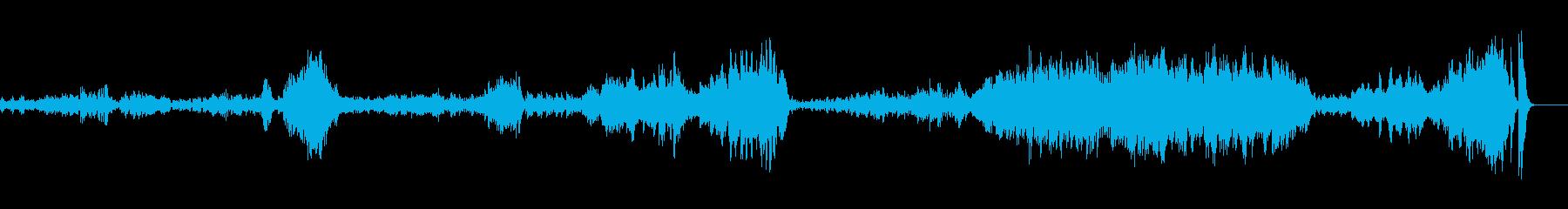 アンコールで映えるピアノソロ曲の再生済みの波形
