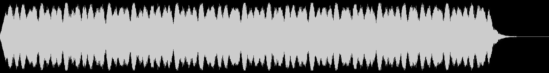 歪みの未再生の波形