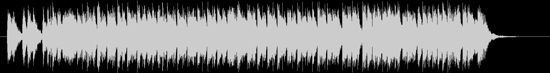 カートゥン系楽器を使用したコミカルポップの未再生の波形