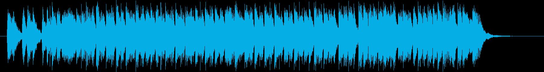 カートゥン系楽器を使用したコミカルポップの再生済みの波形