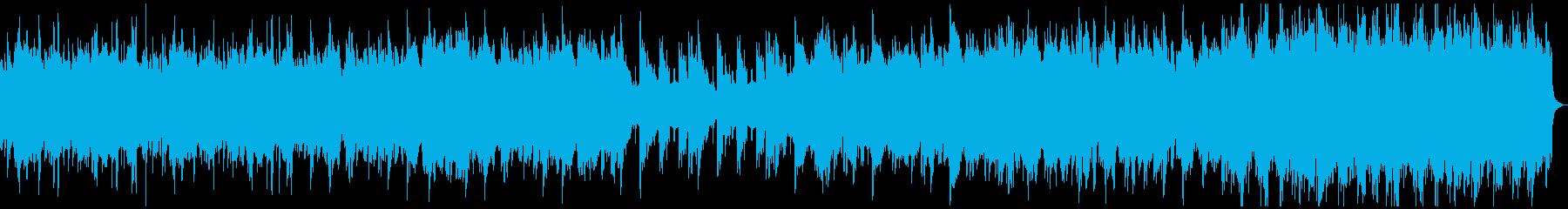 涙を誘う感動的な場面に合うBGMの再生済みの波形