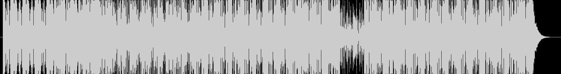 【RnB】ノリノリなラップの曲の未再生の波形