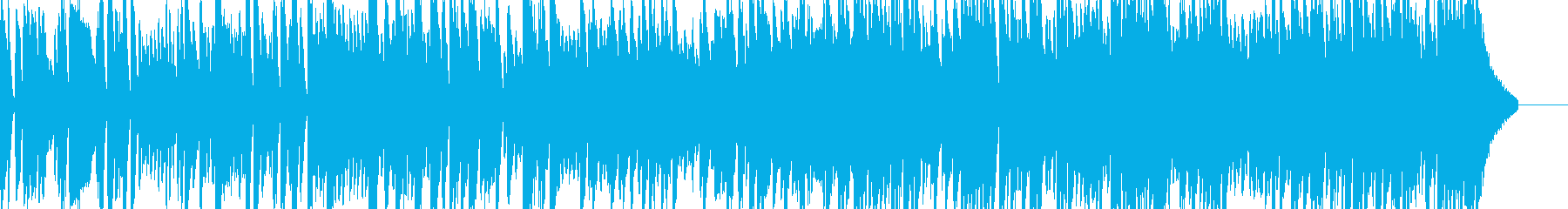 アグレッシブで自信に満ちたブルージ...の再生済みの波形