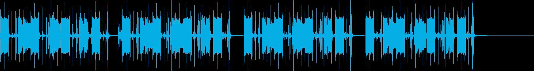 まぬけなBGM1の再生済みの波形