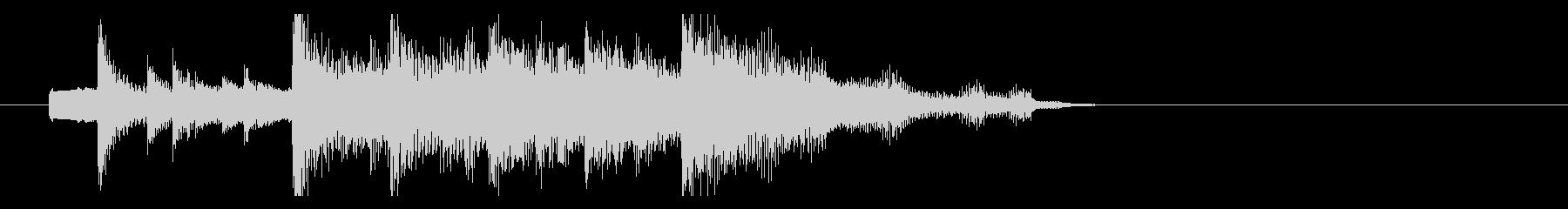 秋にぴったり 切ないメロディのジングルの未再生の波形