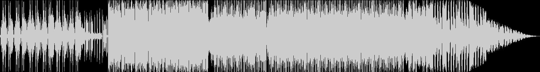 紹介プロモーション向きオープニングEDMの未再生の波形