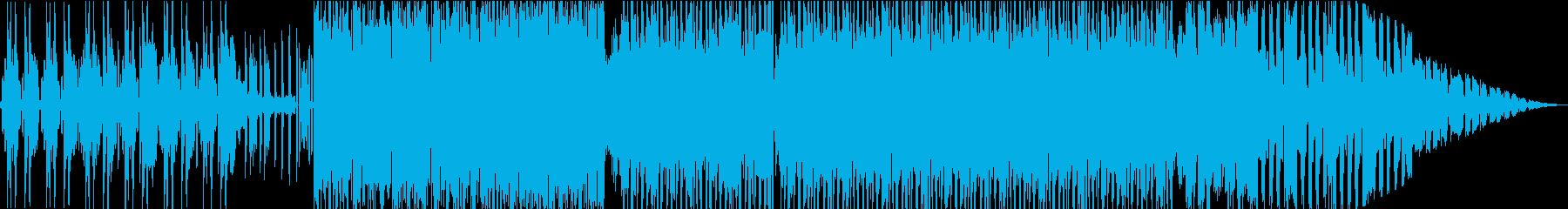 紹介プロモーション向きオープニングEDMの再生済みの波形