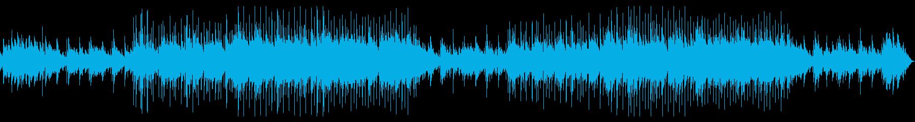 スロー。ピアノバー。ピアノのメロディ。の再生済みの波形