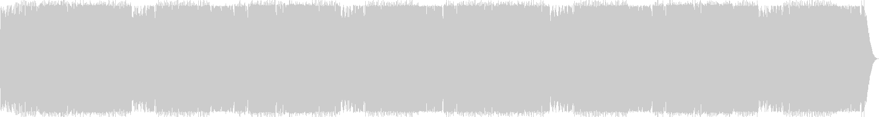BPM140:ワークアウト15分の未再生の波形
