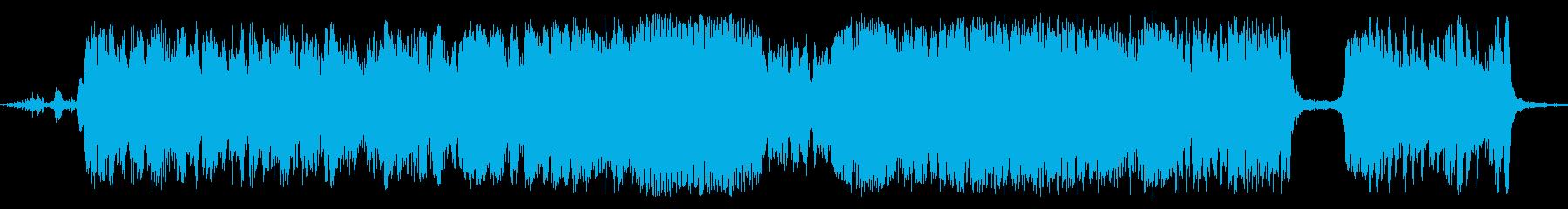 メタルスクリール、フォリーの再生済みの波形