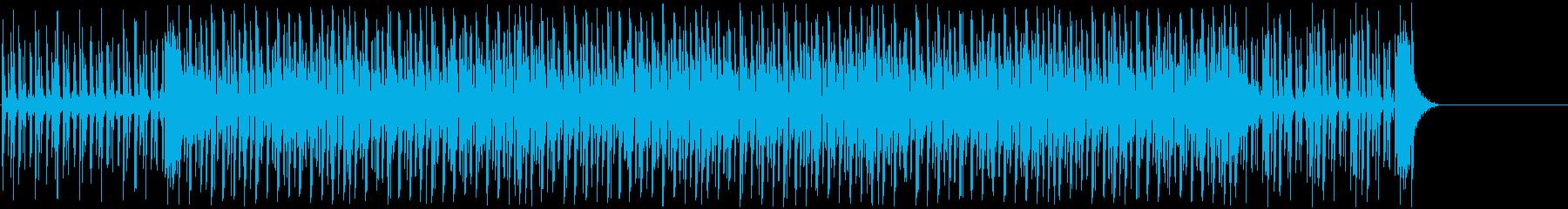 疾走感のある明るいエレクトロポップの再生済みの波形