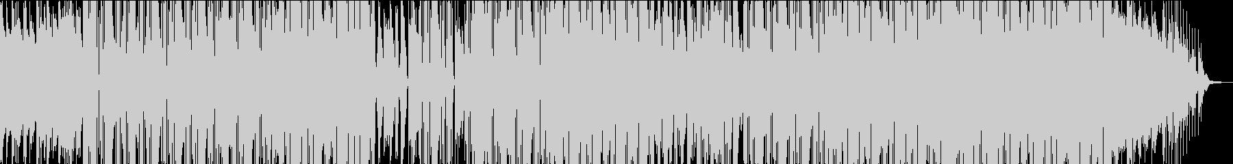 ラジオ風 古き良き時代のピアノビートの未再生の波形