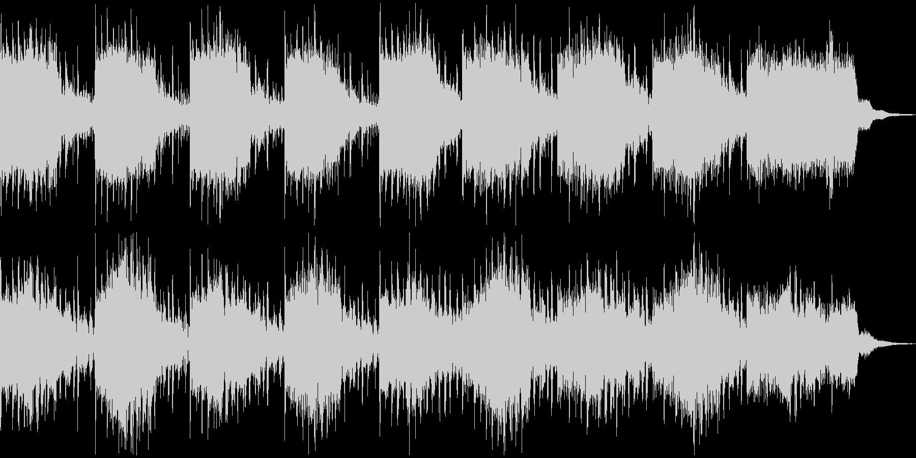 きれいめサスペンス、ホラー系BGMの未再生の波形