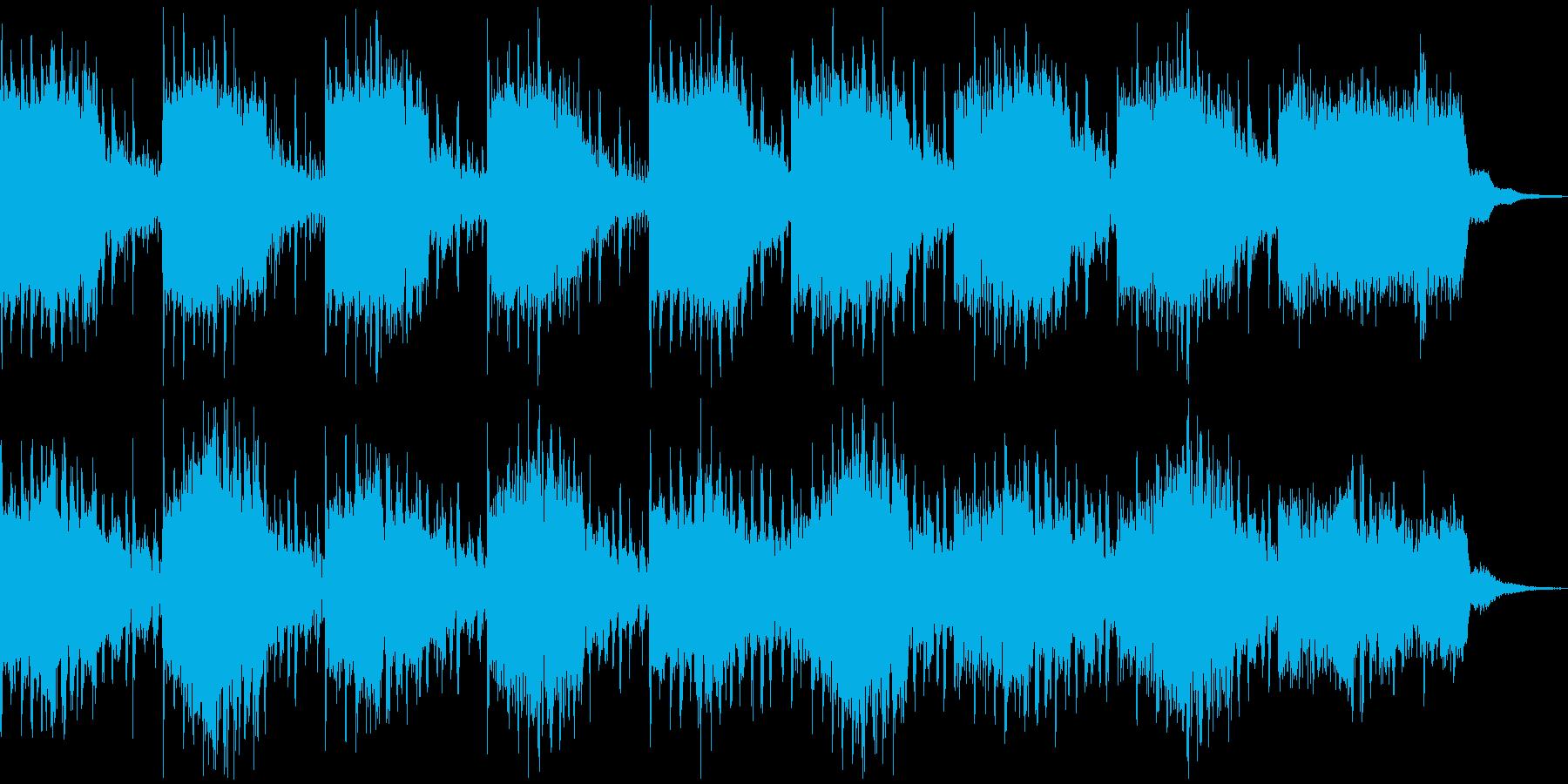 きれいめサスペンス、ホラー系BGMの再生済みの波形
