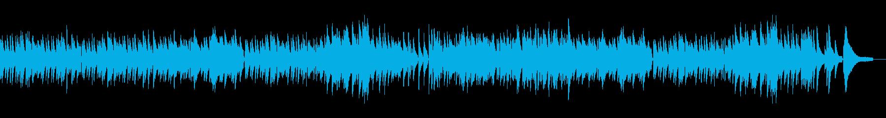 ピアノソロで軽やかエレガントなワルツの再生済みの波形