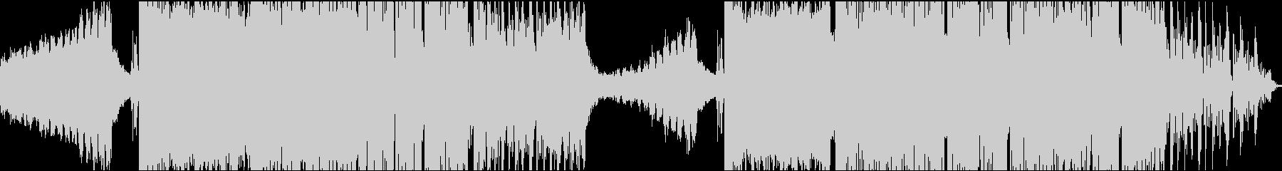 バトル系BGM、ブレイクビーツの未再生の波形