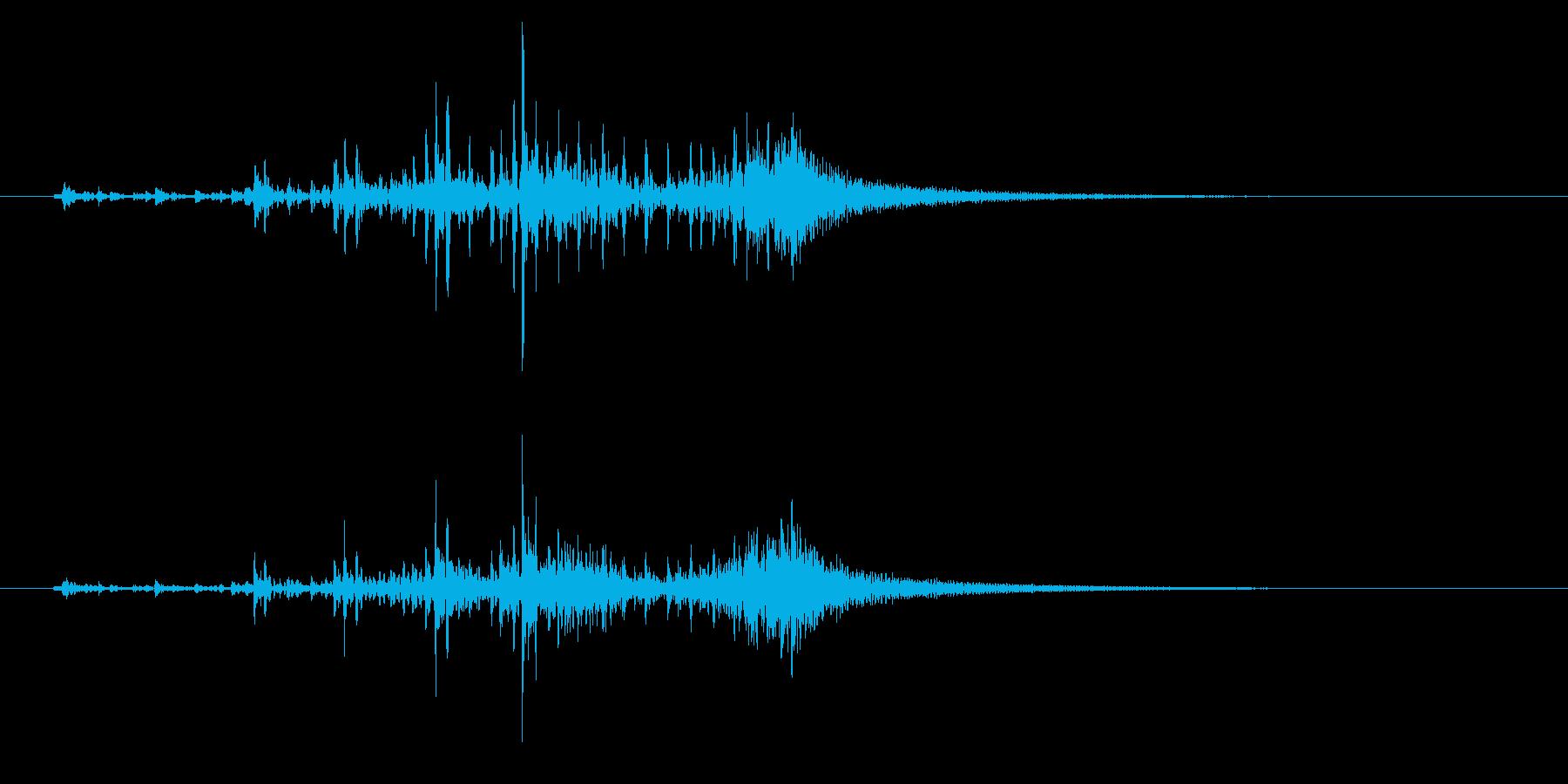 ティンパニ、(手)、細い(パイプ)...の再生済みの波形