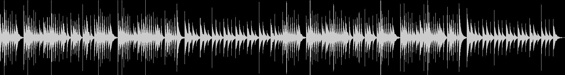 オルゴールのソロです、懐かしいようなシ…の未再生の波形