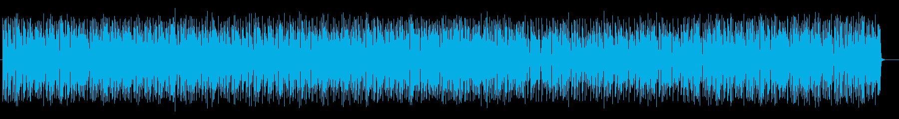 和風で楽しげな管楽器シンセサウンドの再生済みの波形
