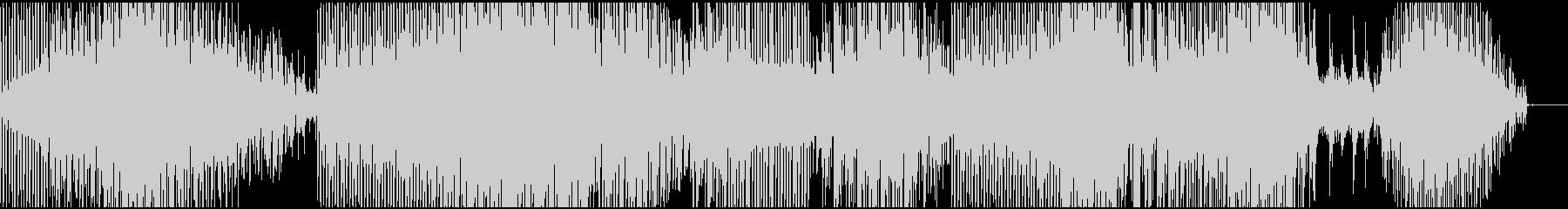 幻想的なミニマル(ピアノ)の未再生の波形
