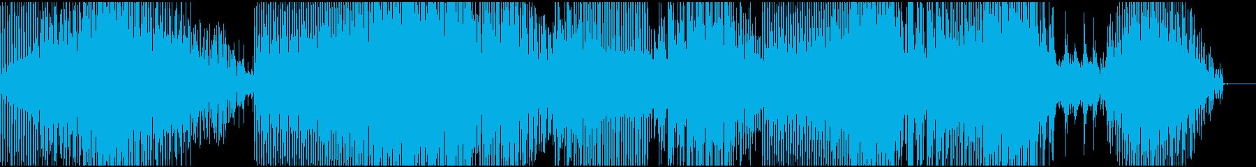 幻想的なミニマル(ピアノ)の再生済みの波形