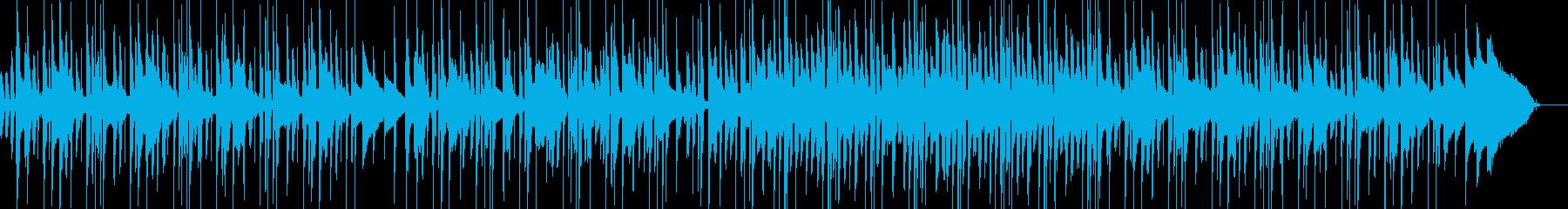 哀愁のあるネオソウルの再生済みの波形