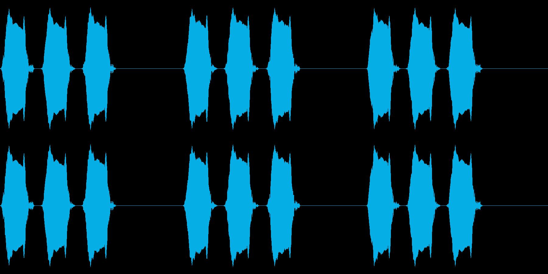 携帯電話 バイブレーション03-17(毛の再生済みの波形