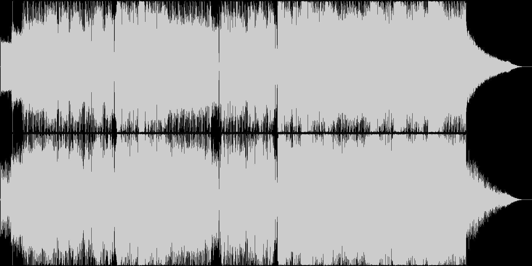 【透明感のある歌声】ミドルロックバラードの未再生の波形