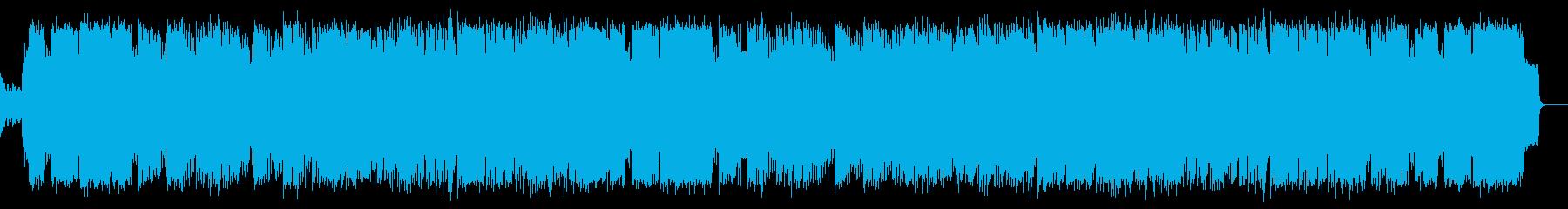 エレガントでしっとりした3連リズムの楽曲の再生済みの波形