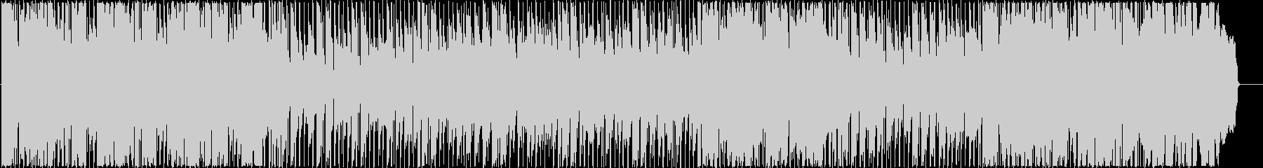 ピアノと金管の切ないロックバラードの未再生の波形