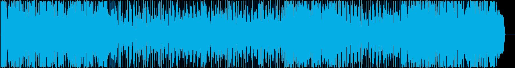 ピアノと金管の切ないロックバラードの再生済みの波形