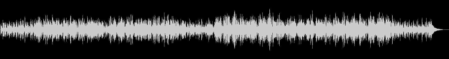 プロジャズシンガーが歌うクリスマスソングの未再生の波形