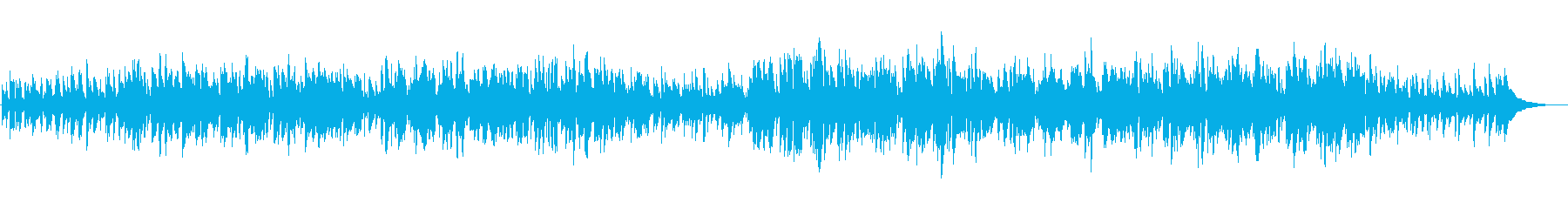 プロジャズシンガーが歌うクリスマスソングの再生済みの波形