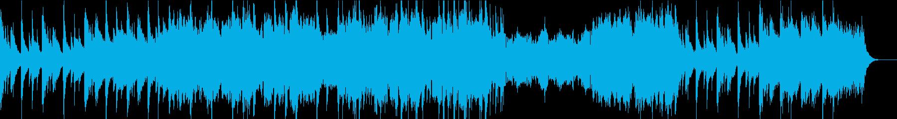 落ち着いたダークファンタジーBGM/映像の再生済みの波形
