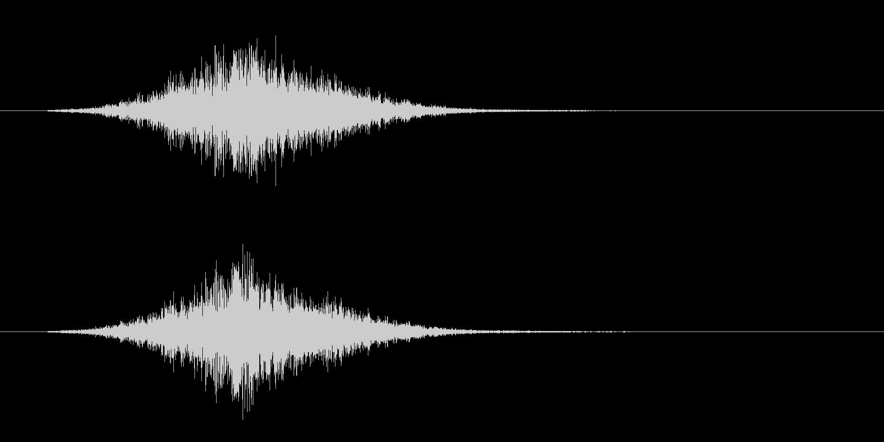 トランジション ヒューシュ07の未再生の波形