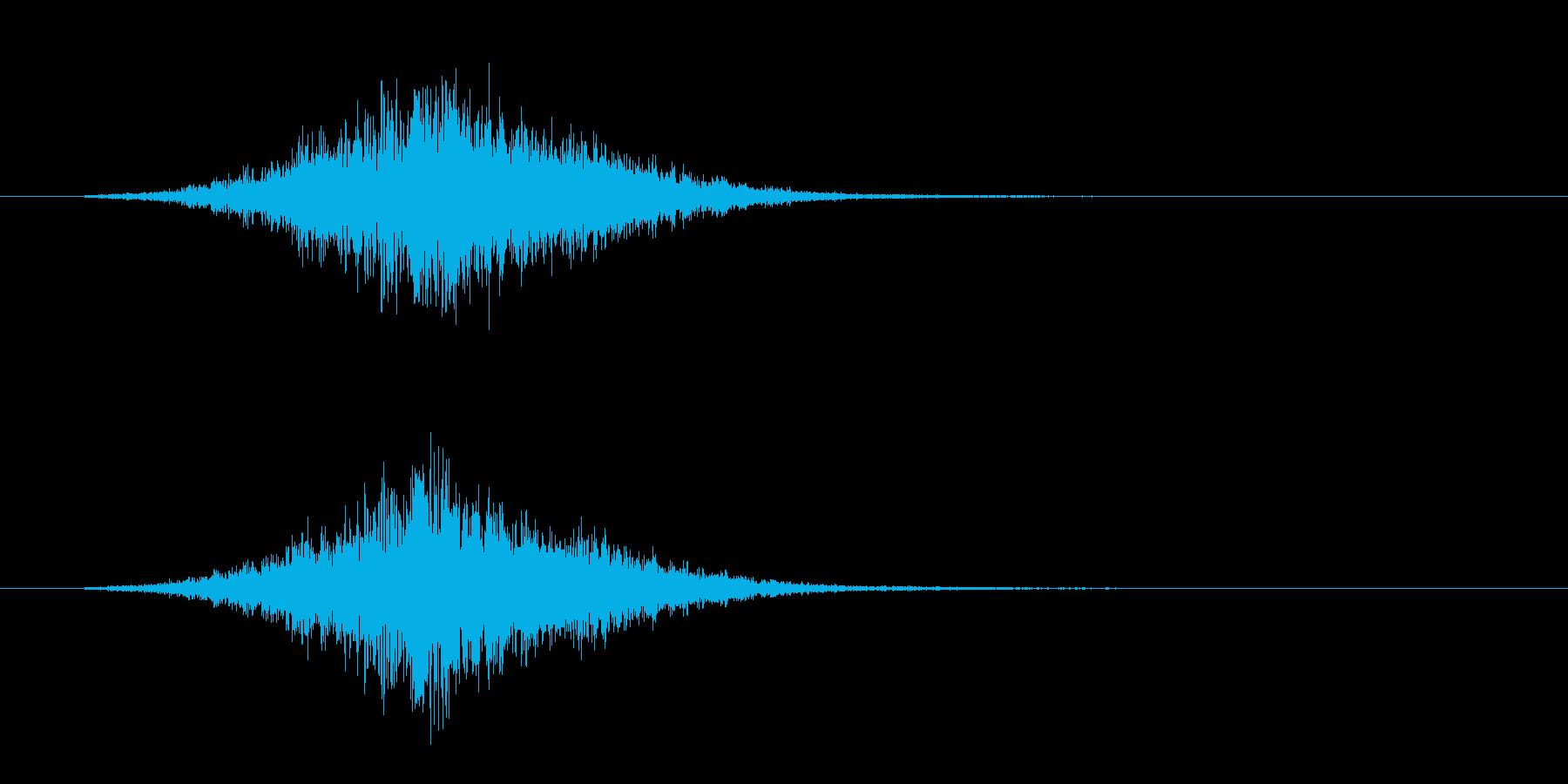 トランジション ヒューシュ07の再生済みの波形